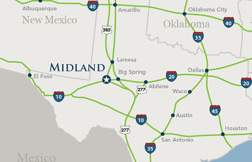 Map Of Texas Midland.Midland Pipe Inter Tech